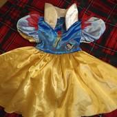 Шикарное платье Белоснежка Marks&Spenser, 4-6
