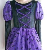 Платье-костюм Летучая мышь на 7-8 лет