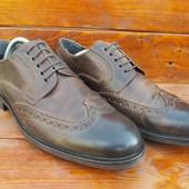 Кожаные туфли,туфлі,броги,оксфорды от bata✔