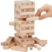 Настольная игра Башня (джанга, дженга, вежа)
