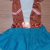 Карнавальное платье на 4-7лет