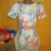 Очень красивое женское платье грудь 41 см Oasis (Оазис) рр 8 52 % катон !!!!!!!!!!
