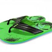 Мужские пляжные вьетнамки. Зеленые.