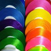 Лента для творчества и рукоделия, 15 цветов по 3м