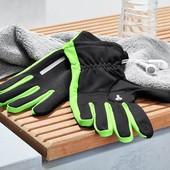 ☘ Сенсорные спортивные термо перчатки от Tchibo (Германия) р. 7,5