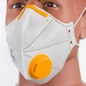 Респиратор-маска Микрон с клапаном FFP2