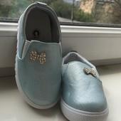 Детски туфельки макасины новые 24-28