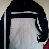 Фірменна утеплена куртка з якісної плотної плащовки з Німеччини роз. XL