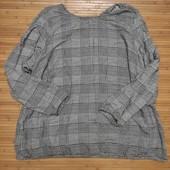 Визкозная блуза свободного кроя