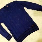 Обалденный тонкий мужской свитер,S-M