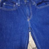 Классные джинсы рост 140 в состоянии новой вещи