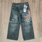 Крутые джинсы Chintonku на рост 90/100см