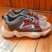 Стильные кроссовки 39-40рр