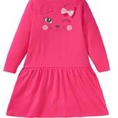 Милое трикотажное платье для вашей дочурки. Кiki&Koko. Германия. Рост 98-104 см, на 2-4 года. Замеры