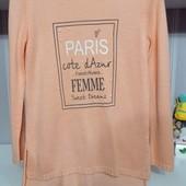 Удлиненный свитерок С-М