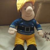 Мягкая кукла 60см пожарный Сем