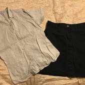 Рубашка і юбка розмір Л
