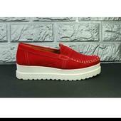 Туфли замша натуральная 41 р