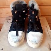 Зимние ботинки - кеды !!
