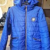 осенняя курточка, в отличном состоянии размер 50_52,замеры в описании