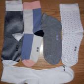 Лот-5 пар! Качественные носки Tchibo Германия р.35-38