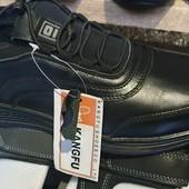 нові кросівки шкіряні 42р до 27,5 см / інші моделі в моїх лотах!