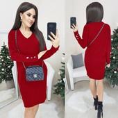 Долгожданная модель! Платье Оверсайз! Норма и батал! 42-46 и 48-52 рр., разные цвета!
