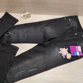 Германия!!! Красивые джинсы-скинни для девочки! 146 рост!