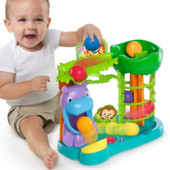 Интерактивная игрушка веселые шары джунглей фирма Bright Starts !!!! Классная и очень интересная!!!