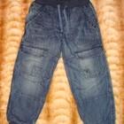 Стильные джинсы на х/б подкладке / 110 см