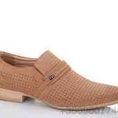 Мужские туфли искуственный нубук