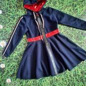 Осінь. Шикарні плаття для дівчат.Трикотаж+ блискуча плащевка.
