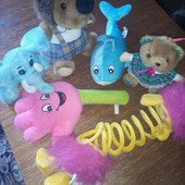 Мягкие игрушки все что на фото
