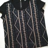 Эффектная фирменная футболка свитшот от Esmara Новая