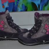 Зимние ботинки Pepino 23р.-14,5см для девочки