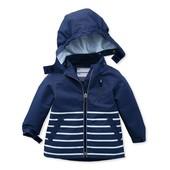 Водо, ветро-, грязе- непроницаемая куртка на хлопковой подкладке Tchibo(Германия), р.: 122/128
