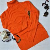 Кашемировый гольф Милано (Milano) оригинал оранжевый, размер на выбор