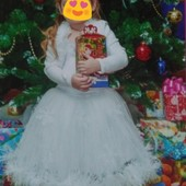 платье Снежинка