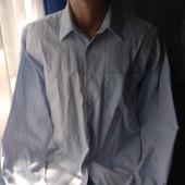 Мужская рубашка, р.L/XL( ворот 40)