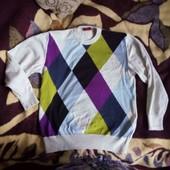 свитер тонкий, нарядный 48р 50