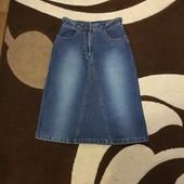 Джинсовая юбка UK 10