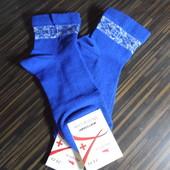 Женские носки без резинки, медицинская линия, р.36-40, в лоте 2 шт