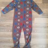 Флисовый слип пижама на мальчика