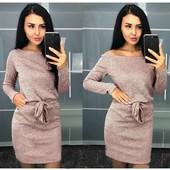 Платье с поясом! Цвет и размер на выбор!