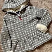 Супер мягка фірмова куртка-кофта для модниці