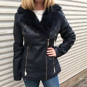 Женская куртка на меху. Шикарная! Последний размер!