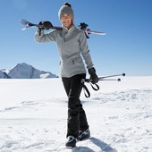 Теплые лыжные брюки softshell от Tchibo германия размер 44 евро=50-52