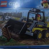 Lego city оригинал Строительный погрузчик 88 деталей