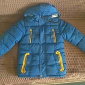 Теплюща курточка для вашого хлопця. Р 140