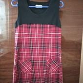 Теплое платье 100% хлопок